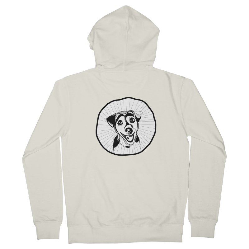Bau bau Men's French Terry Zip-Up Hoody by coclodesign's Artist Shop