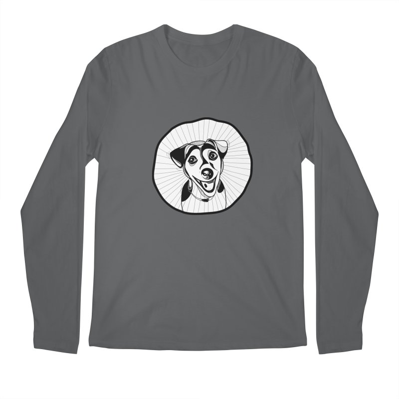 Bau bau Men's Regular Longsleeve T-Shirt by coclodesign's Artist Shop