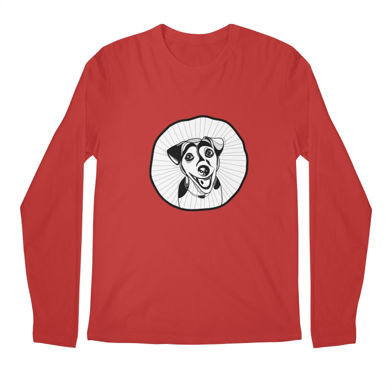 Bau bau Men's Regular Longsleeve T-Shirt by coclodesign's Artist Shop