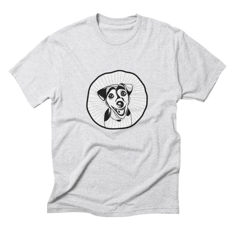 Bau bau Men's Triblend T-Shirt by coclodesign's Artist Shop