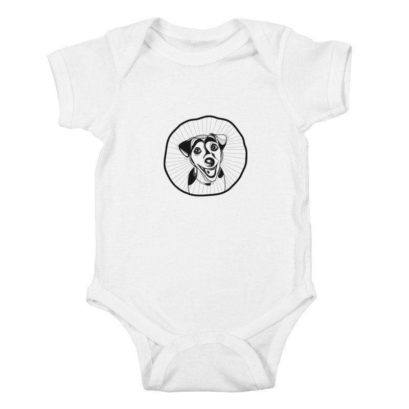 Bau bau Kids Baby Bodysuit by coclodesign's Artist Shop