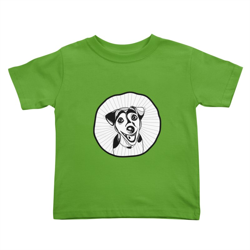 Bau bau Kids Toddler T-Shirt by coclodesign's Artist Shop
