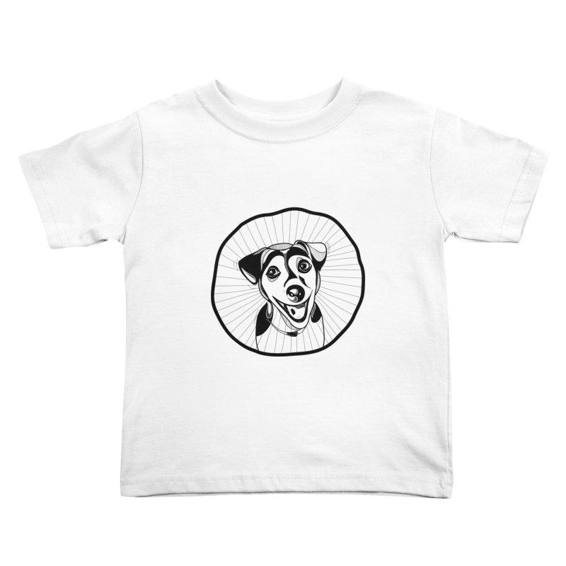 Bau bau Kids Toddler T-Shirt by coclodesign's Artist Shop