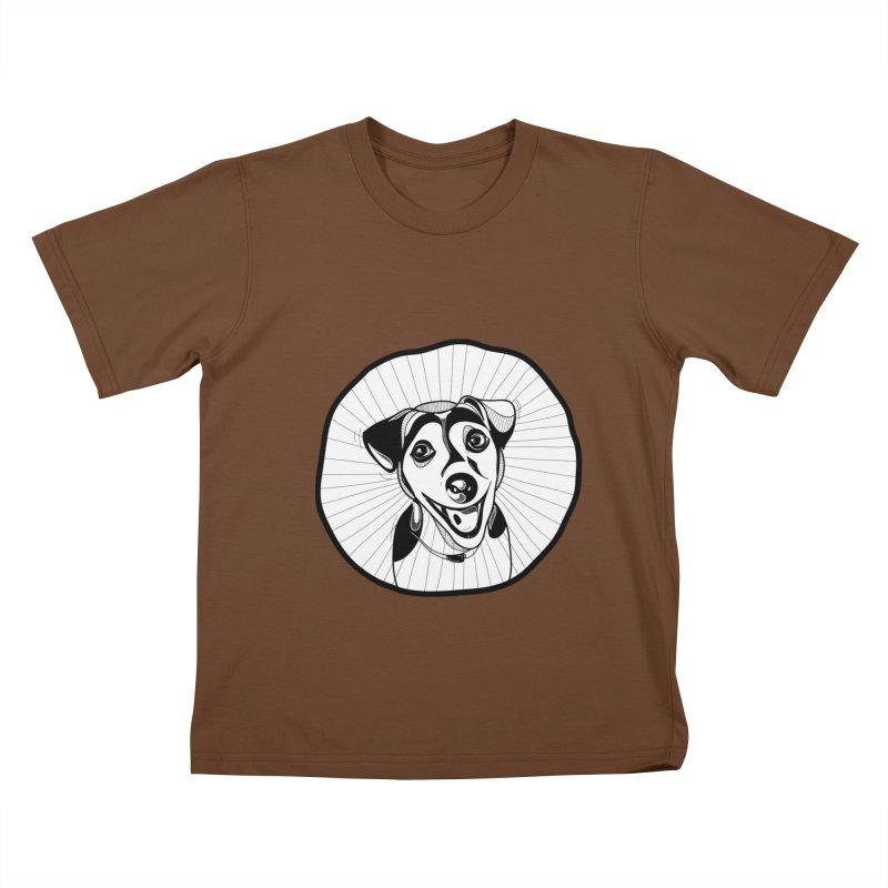 Bau bau Kids T-shirt by coclodesign's Artist Shop