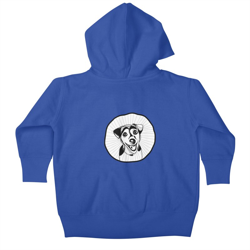Bau bau Kids Baby Zip-Up Hoody by coclodesign's Artist Shop