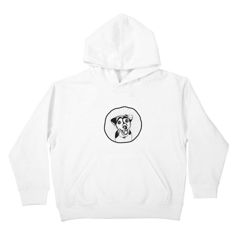 Bau bau Kids Pullover Hoody by coclodesign's Artist Shop