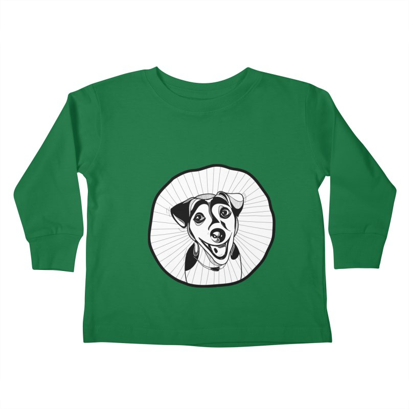 Bau bau Kids Toddler Longsleeve T-Shirt by coclodesign's Artist Shop