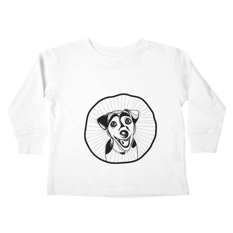 Bau bau Kids Toddler Longsleeve T-Shirt by coclodesign's Artist Shop