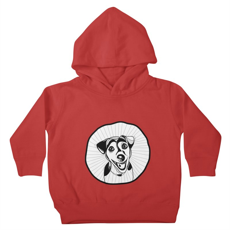 Bau bau Kids Toddler Pullover Hoody by coclodesign's Artist Shop