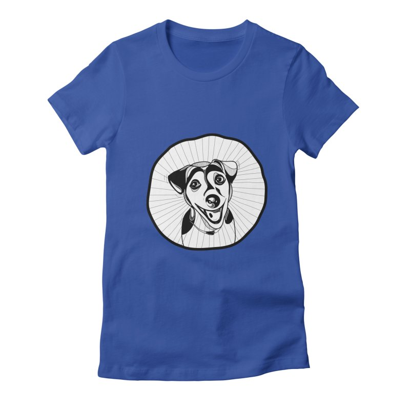 Bau bau Women's Fitted T-Shirt by coclodesign's Artist Shop