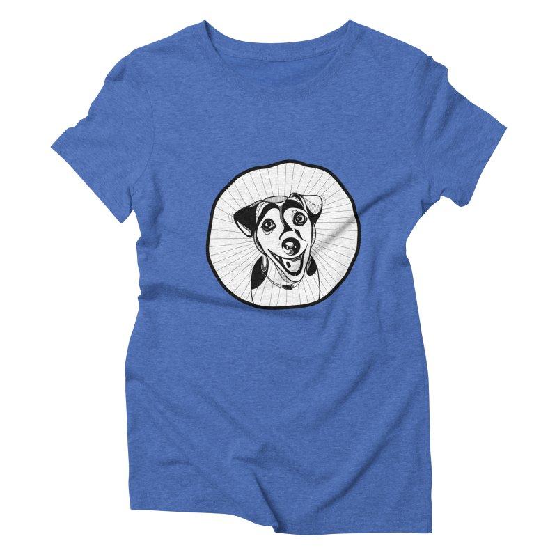 Bau bau Women's Triblend T-Shirt by coclodesign's Artist Shop