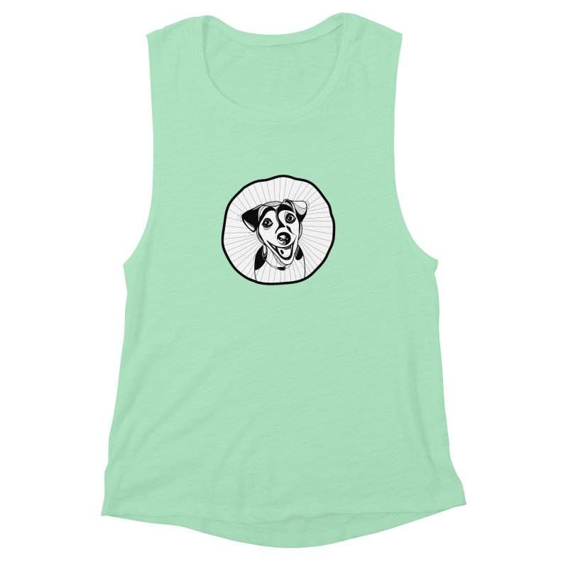 Bau bau Women's Muscle Tank by coclodesign's Artist Shop