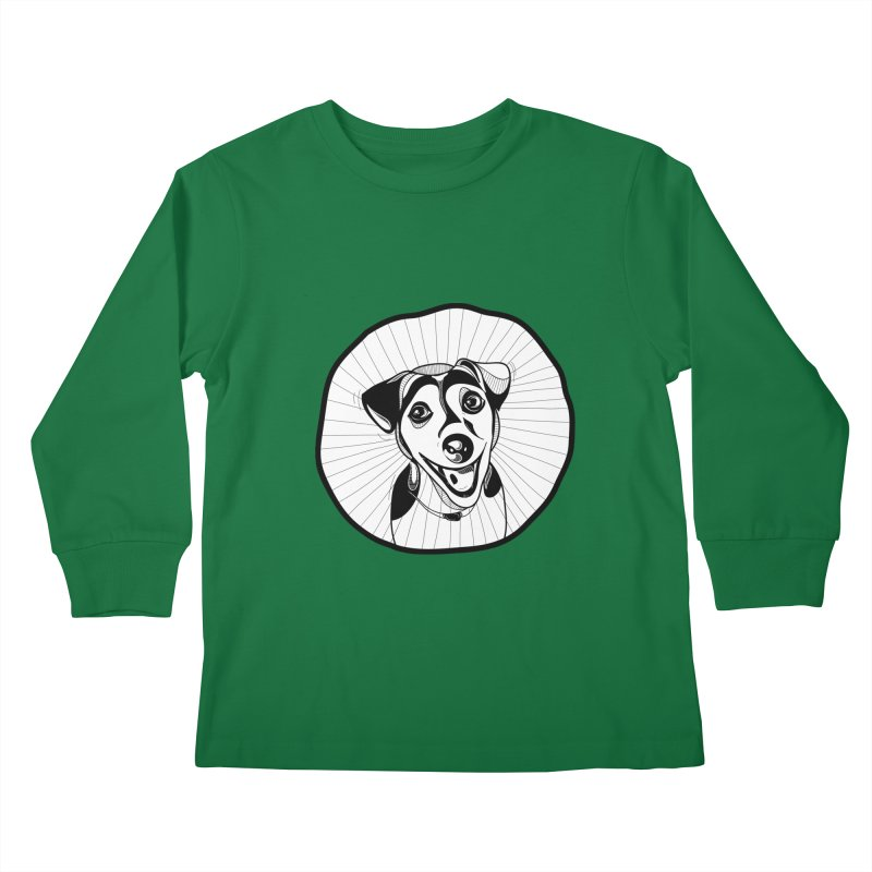 Bau bau Kids Longsleeve T-Shirt by coclodesign's Artist Shop