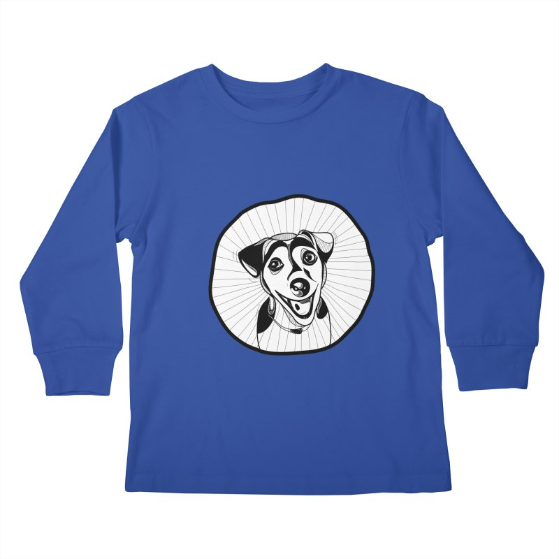 Bau bau Kids Longsleeve T-Shirt by coclodesign's Artist Shop
