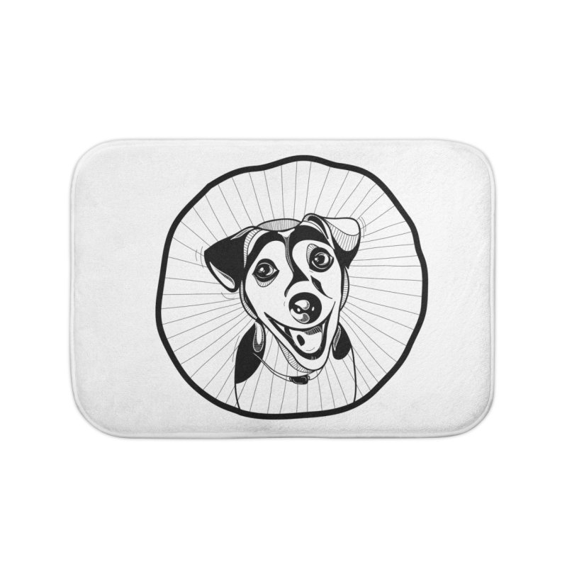 Bau bau Home Bath Mat by coclodesign's Artist Shop
