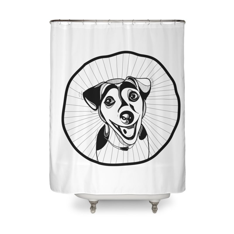 Bau bau Home Shower Curtain by coclodesign's Artist Shop