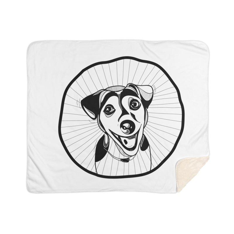 Bau bau Home Sherpa Blanket Blanket by coclodesign's Artist Shop