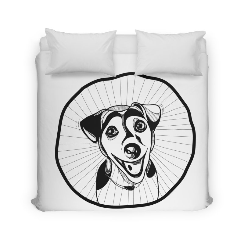 Bau bau Home Duvet by coclodesign's Artist Shop