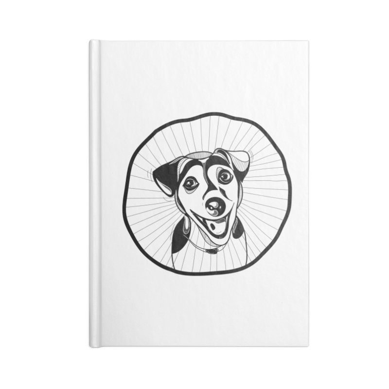 Bau bau Accessories Lined Journal Notebook by coclodesign's Artist Shop