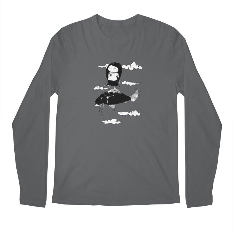 Zeginella1 Men's Regular Longsleeve T-Shirt by coclodesign's Artist Shop