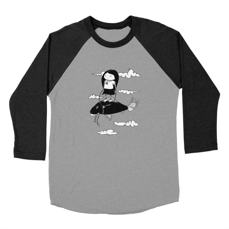 Zeginella1 Women's Baseball Triblend Longsleeve T-Shirt by coclodesign's Artist Shop