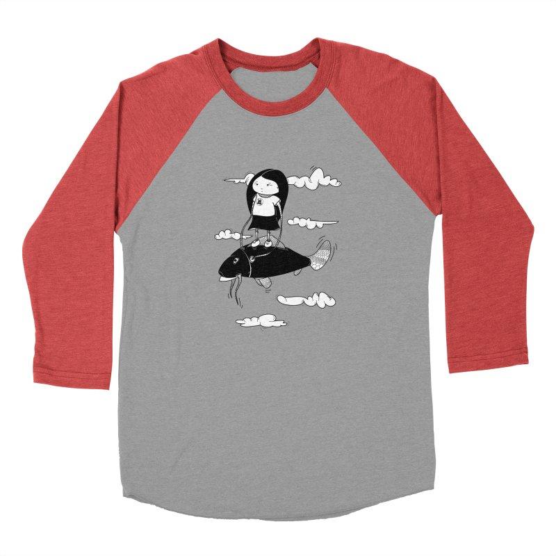 Zeginella1 Men's Baseball Triblend T-Shirt by coclodesign's Artist Shop