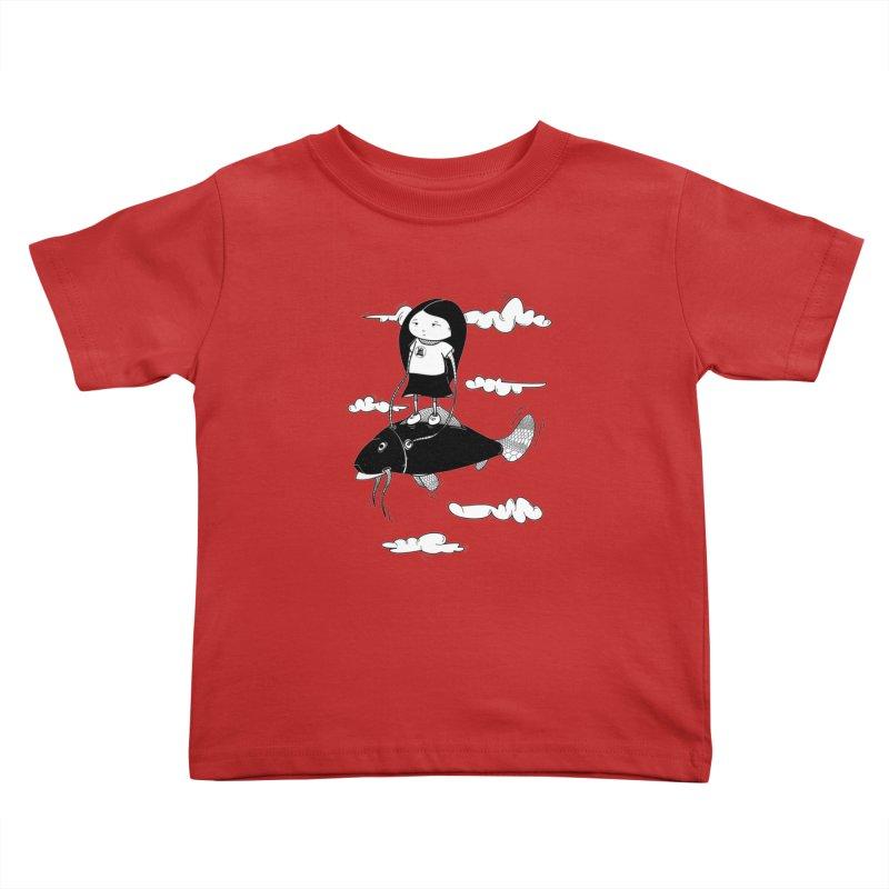 Zeginella1 Kids Toddler T-Shirt by coclodesign's Artist Shop