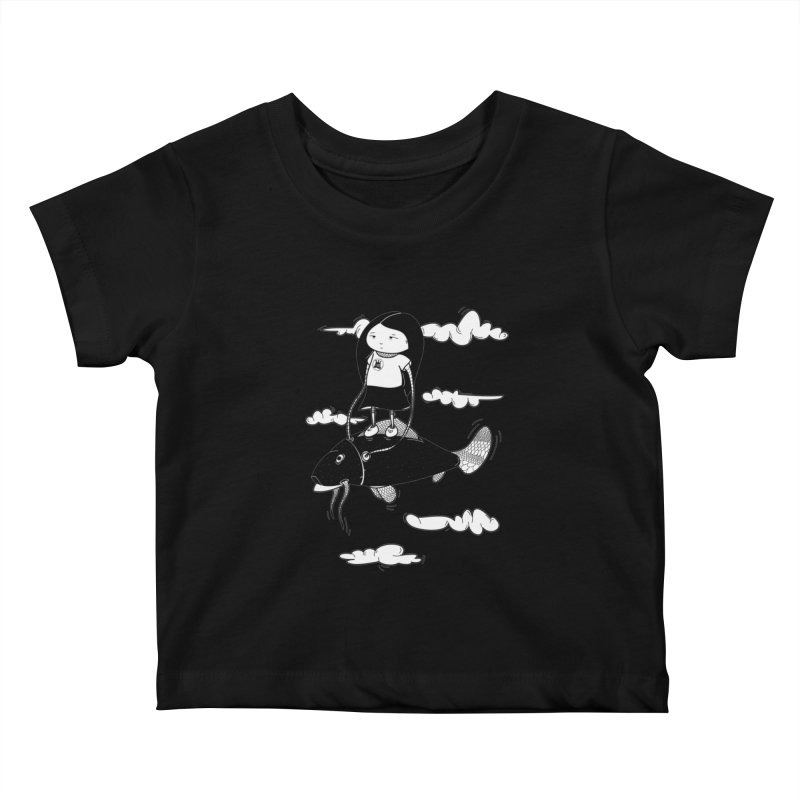 Zeginella1 Kids Baby T-Shirt by coclodesign's Artist Shop