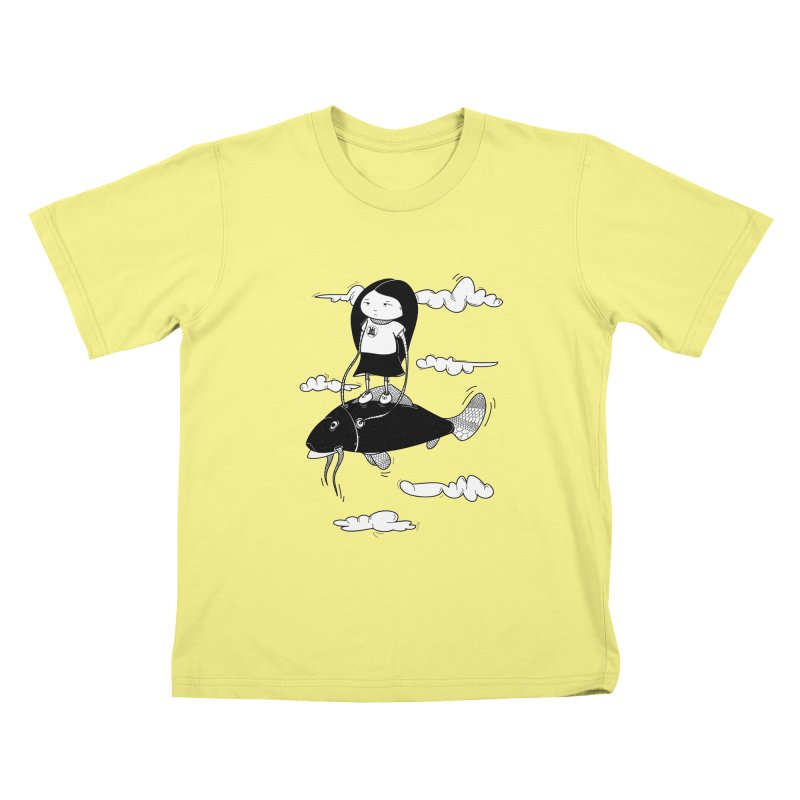 Zeginella1 Kids T-shirt by coclodesign's Artist Shop