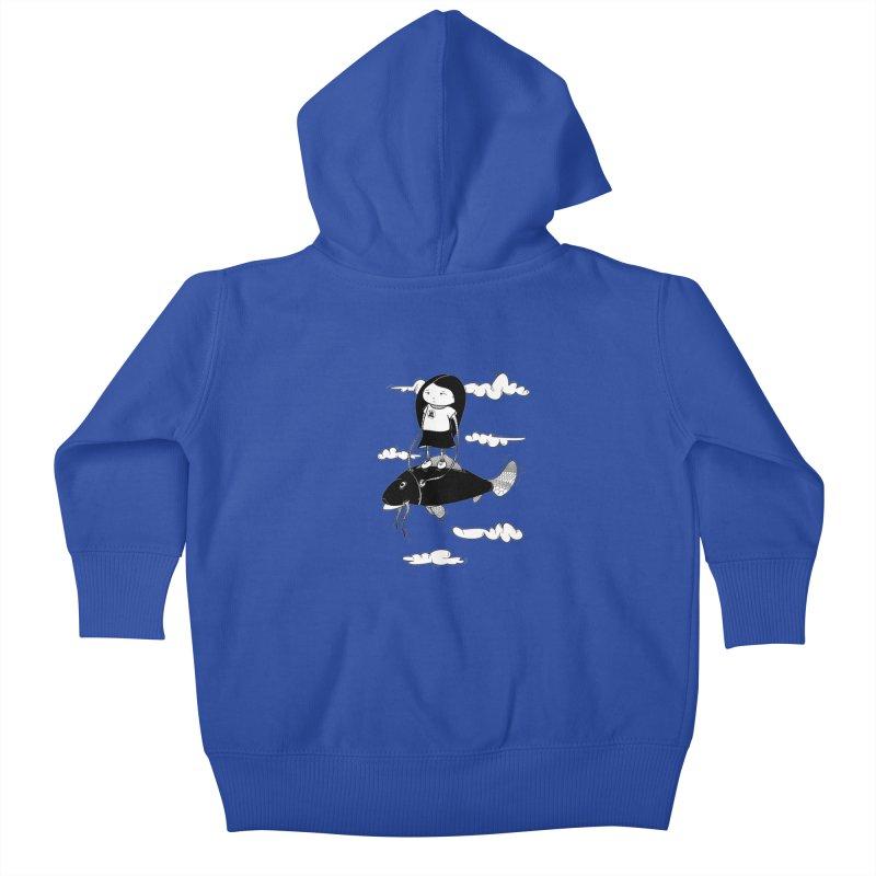 Zeginella1 Kids Baby Zip-Up Hoody by coclodesign's Artist Shop
