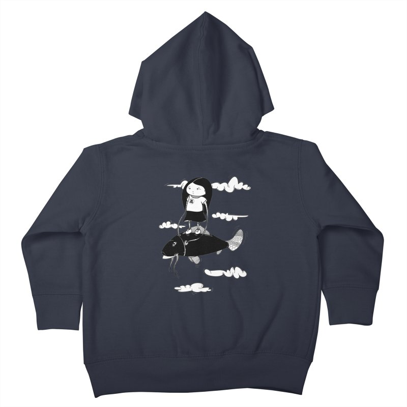 Zeginella1 Kids Toddler Zip-Up Hoody by coclodesign's Artist Shop