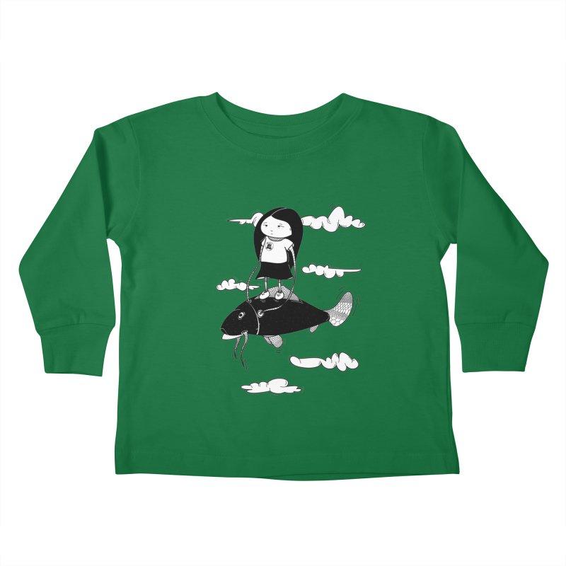 Zeginella1 Kids Toddler Longsleeve T-Shirt by coclodesign's Artist Shop
