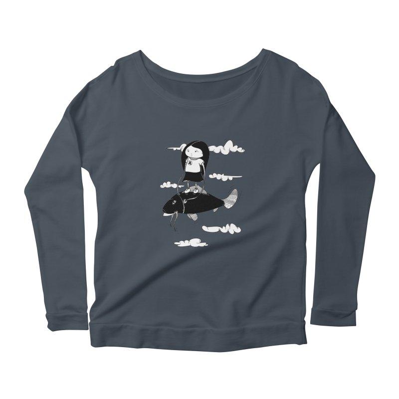 Zeginella1 Women's Scoop Neck Longsleeve T-Shirt by coclodesign's Artist Shop