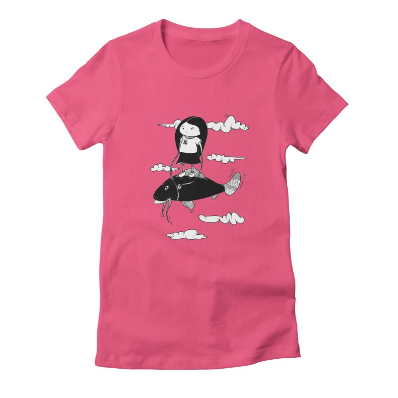 Zeginella1 Women's Fitted T-Shirt by coclodesign's Artist Shop