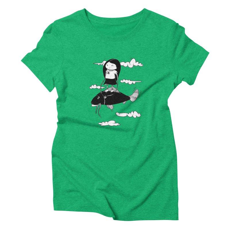 Zeginella1 Women's Triblend T-shirt by coclodesign's Artist Shop
