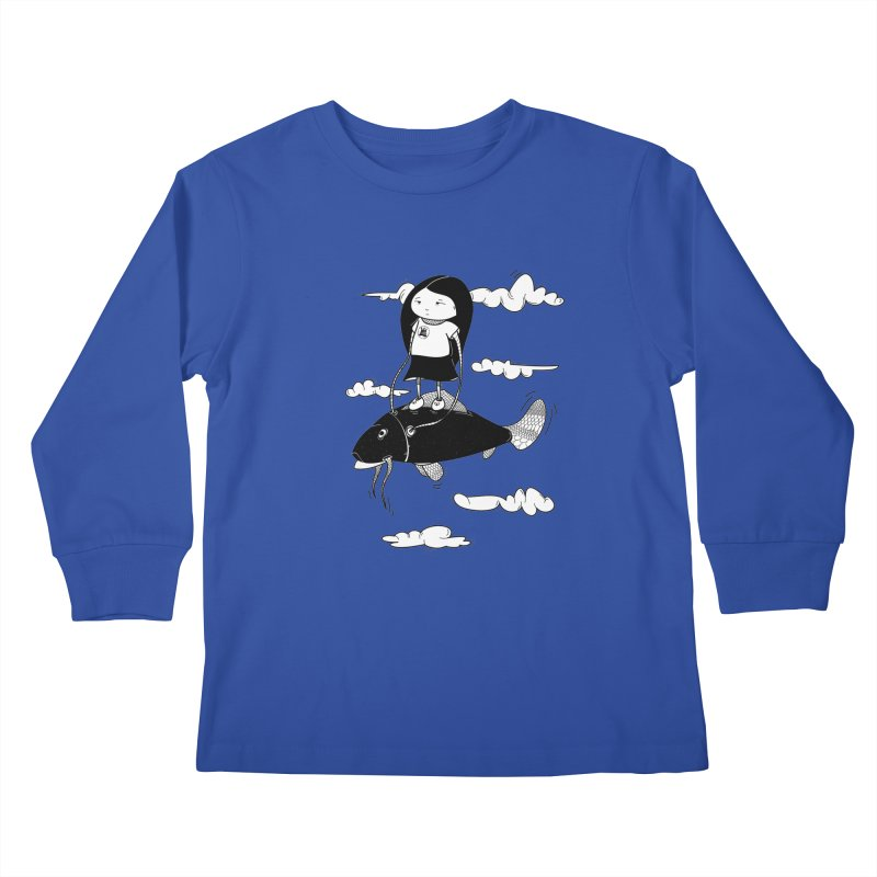 Zeginella1 Kids Longsleeve T-Shirt by coclodesign's Artist Shop