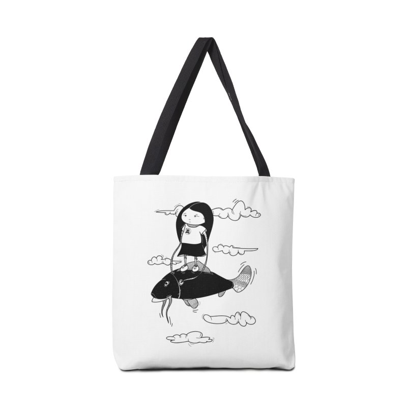 Zeginella1 Accessories Bag by coclodesign's Artist Shop