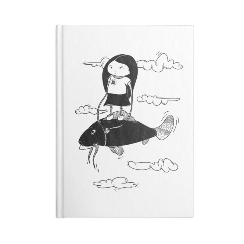 Zeginella1 Accessories Lined Journal Notebook by coclodesign's Artist Shop