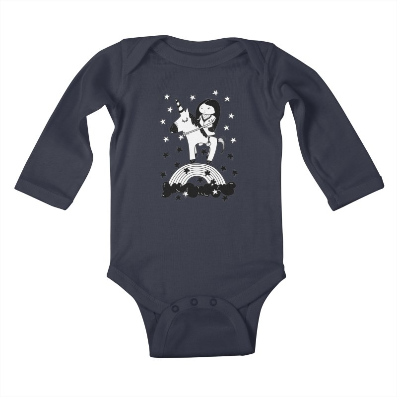 Zeginella_2 Kids Baby Longsleeve Bodysuit by coclodesign's Artist Shop