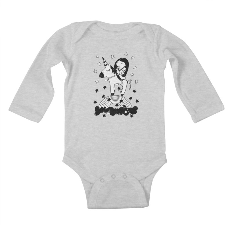 Zeginella_2 Kids Baby Longsleeve Bodysuit by coclodesign's Artist Shop