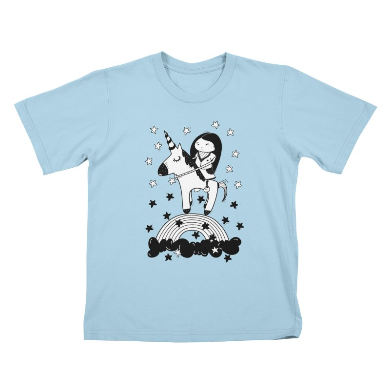 Zeginella_2 Kids T-Shirt by coclodesign's Artist Shop