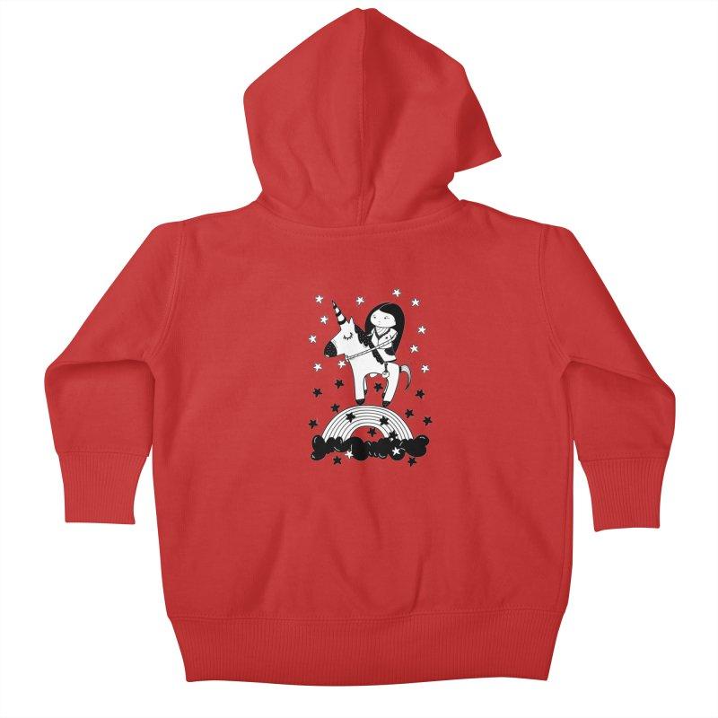 Zeginella_2 Kids Baby Zip-Up Hoody by coclodesign's Artist Shop
