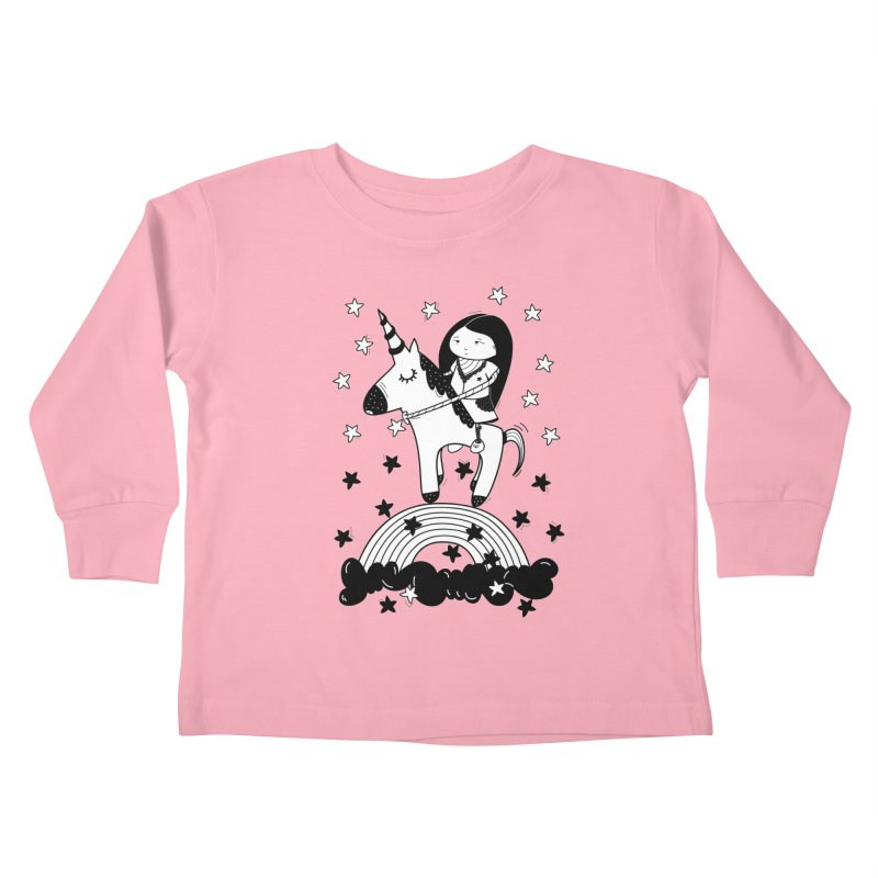 Zeginella_2 Kids Toddler Longsleeve T-Shirt by coclodesign's Artist Shop