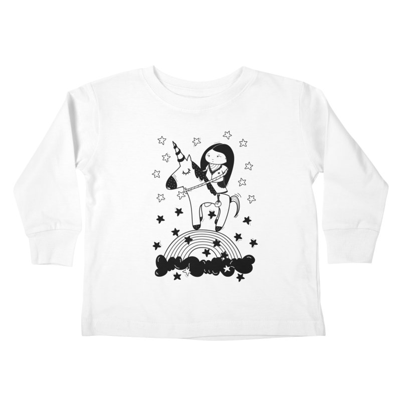 Zeginella_2 Kids Toddler Longsleeve T-Shirt by coclodesign's Artist Shop