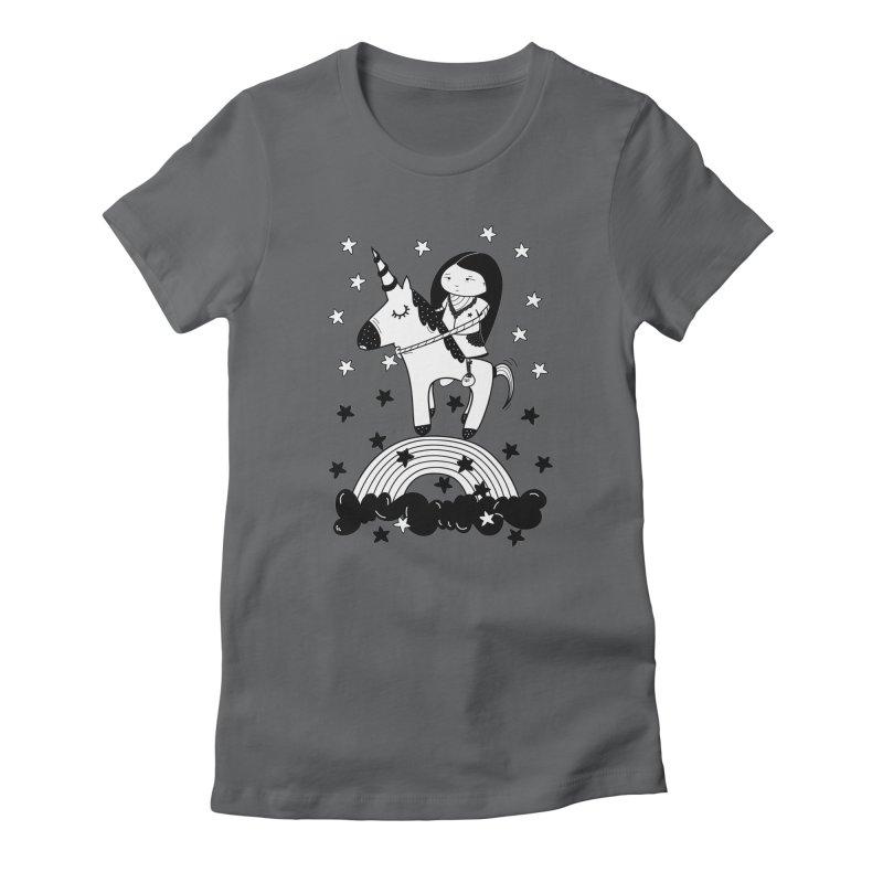 Zeginella_2 Women's Fitted T-Shirt by coclodesign's Artist Shop
