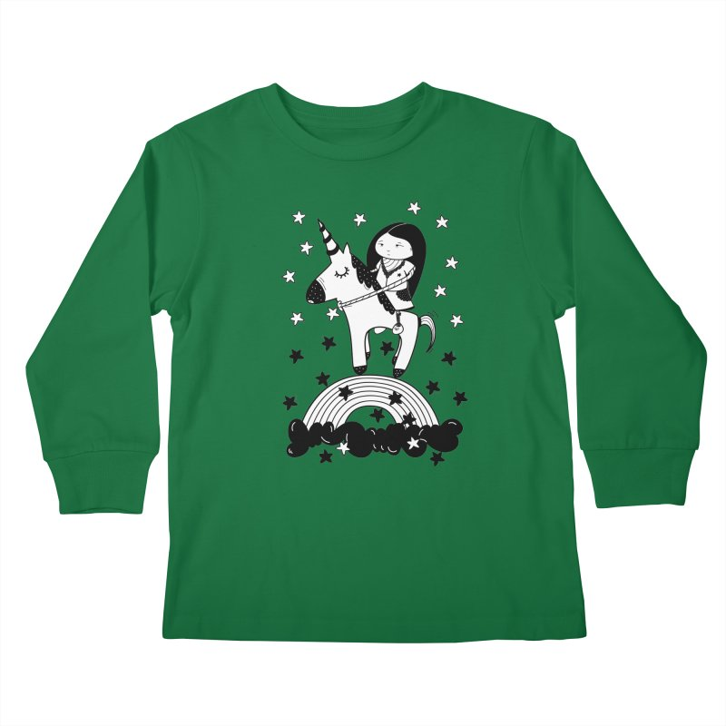 Zeginella_2 Kids Longsleeve T-Shirt by coclodesign's Artist Shop