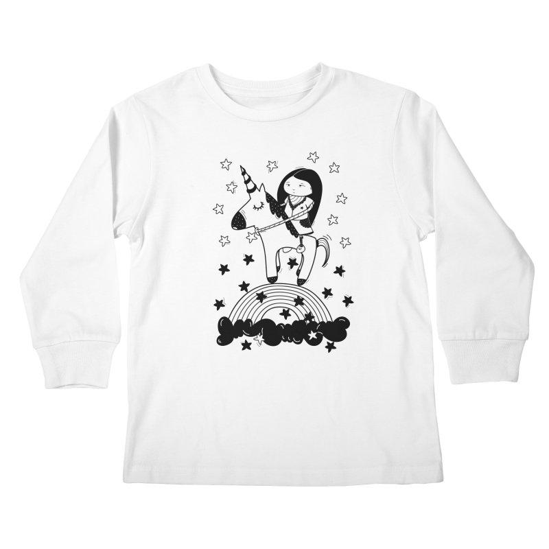Zeginella_2 Kids Longsleeve T-Shirt by coclodesign's Artist Shop