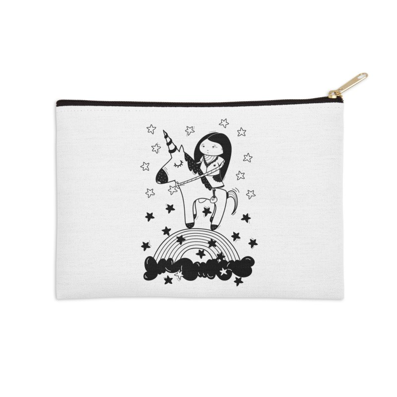 Zeginella_2 Accessories Zip Pouch by coclodesign's Artist Shop