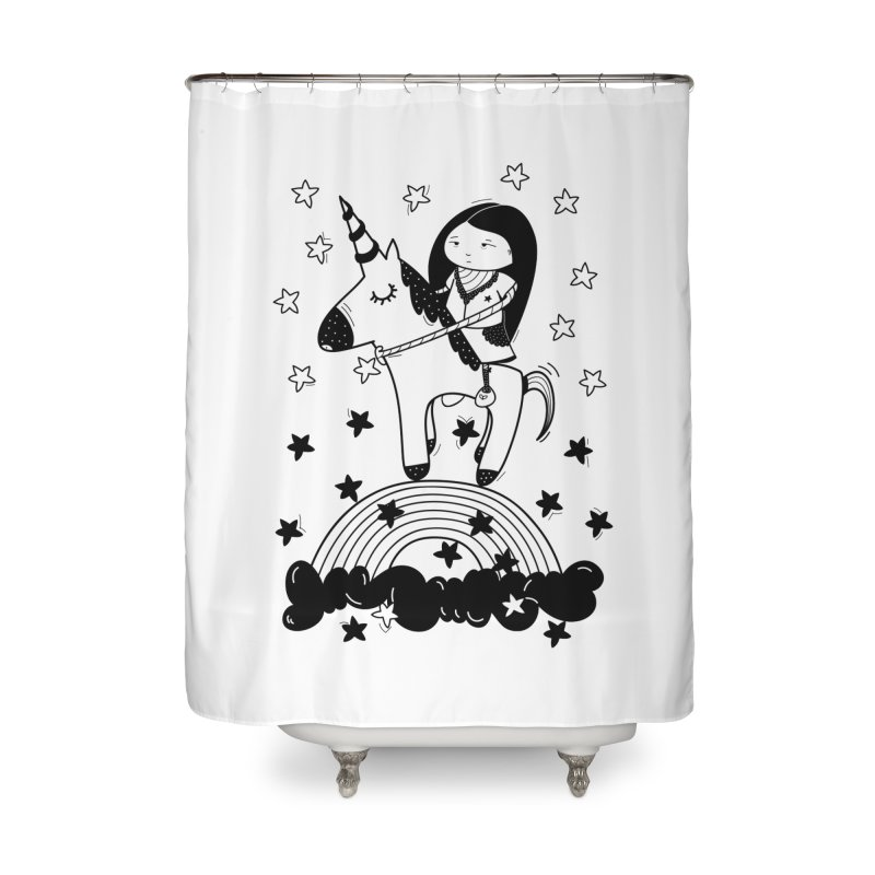 Zeginella_2 Home Shower Curtain by coclodesign's Artist Shop