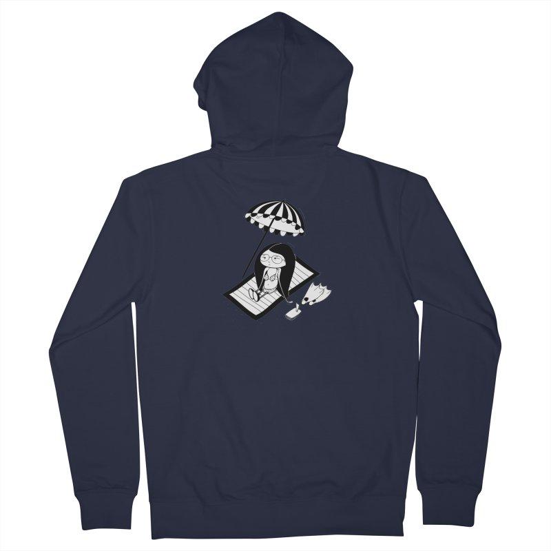 Zegi to the sea Men's Zip-Up Hoody by coclodesign's Artist Shop